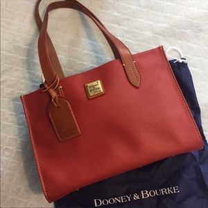 Dooney & Bourke Eva Tote Deep Red